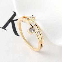 AAA级锆石戒指--魅力四射(14K金)