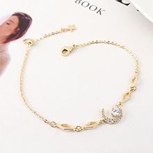 AAA级锆石手链--皎洁月光(14K金)