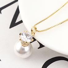 AAA级锆石项链--珠光宝气(14K金)