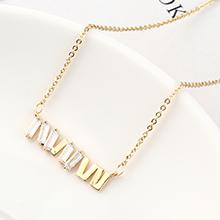 AAA级锆石项链--荧光(14K金)