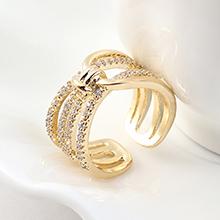 AAA级锆石戒指--缠绵今生(14K金)