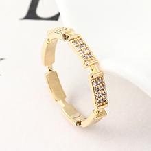 AAA级锆石戒指--今生与共(14K金)