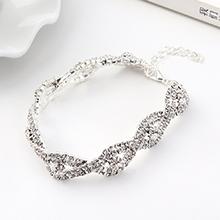 韩版大气时尚创意魅力之眼手链(白色)