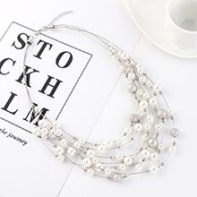 欧美夸张创意个性时尚珍珠项链