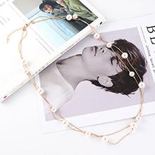 韩版气质时尚个性百搭大小珍珠项链