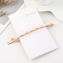 欧美时尚复古个性气质简约大小珍珠发夹