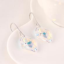 奥地利水晶耳环--菱形之光