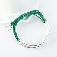 韩版时尚简约小清新手链(绿色)