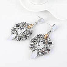 韩版时尚民族风大气创意玻璃耳钉