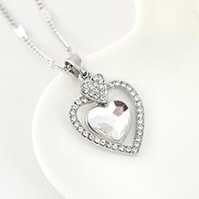 奥地利水晶项链--专属心意(白色)