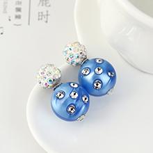 韩版创意个性时尚气质彩球(蓝色)
