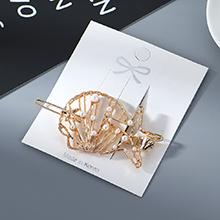 韩版时尚复古个性气质五星珍珠发夹
