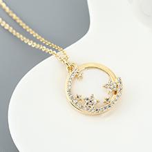 AAA级锆石项链--星星奇缘(14K金)