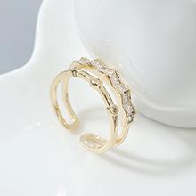 AAA级锆石戒指--小幸运(14K金)