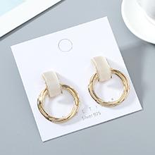 韩版镀真金气质大牌时尚风靡ins潮流行爆款猫眼石S925银针