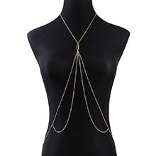欧美时尚百搭个性性感ins潮身体链