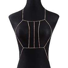欧美时尚创意夸张百搭新潮个性身体链