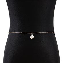 欧美时尚创意夸张个性贝壳腰链
