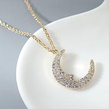 AAA级锆石项链--月下清风(14K金)