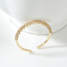 AAA级锆石戒指--王冠(14K金)