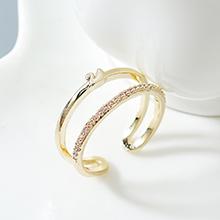 AAA级锆石戒指--小天鹅(14K金)