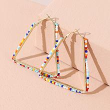 欧美创意ins潮流行时尚个性百搭三角耳钉