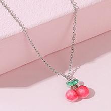 韩版甜美时尚创意小清新樱桃项链