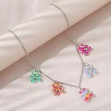 欧美时尚创意百搭甜美创意小清新小熊项链