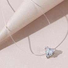 欧美百搭气质大牌时尚ins潮风靡三角星水晶项链