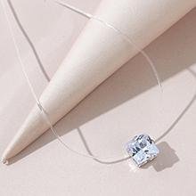 欧美时尚百搭大气大牌气质水晶项链
