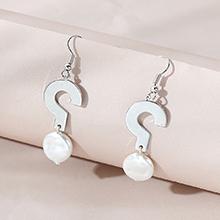 韩版创意个性百搭时尚珍珠耳环