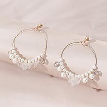 韩版时尚百搭民族原宿ins潮复古珍珠耳环