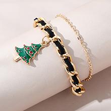 圣诞风靡流行爆款时尚百搭圣诞树手链