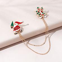 圣诞系列百搭小清新ins潮流行圣诞老人胸针