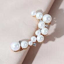 韩版复古时尚百搭气质大牌创意珍珠单边耳钉