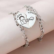 欧美法式百搭流行个性创意情侣手链套装