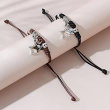 韩版创意小清新百搭爆款小星星情侣手链套装