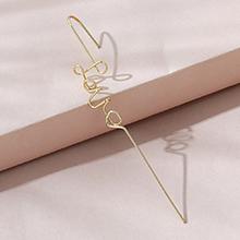 欧美小仙女法式ins潮创意时尚流行个性单边耳环耳插
