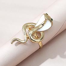 韩版创意个性夸张百搭眼镜蛇戒指