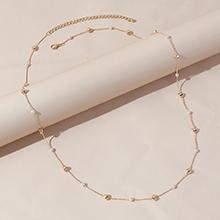 欧美简约复古时尚气质珍珠腰链