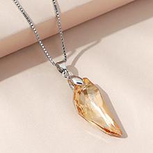 奥地利水晶项链--月牙(金色魅影)