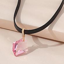 奥地利水晶项链--魔法水晶(香槟金)