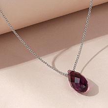 奥地利水晶项链--逝水年华(紫色)
