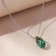 奥地利水晶项链--逝水年华(翠绿)