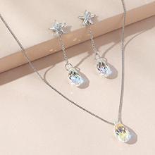 奥地利水晶套装--逝水年华(彩白)
