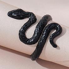 欧美时尚创意百搭个性夸张小蛇戒指