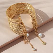 欧美法式复古百搭创意ins潮珍珠手镯