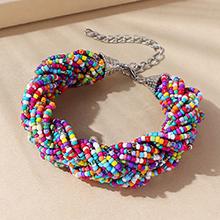 欧美民族风百搭流行创意米珠手链