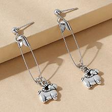 韩版创意简约小清新小绵羊耳环