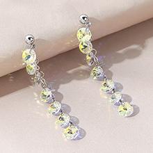 奥地利水晶耳环--悦心